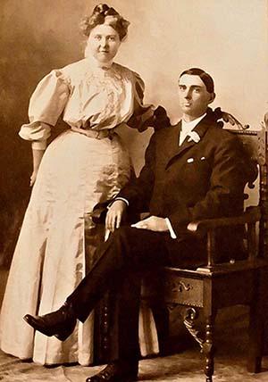 Peter Leroy and Elsie Surat